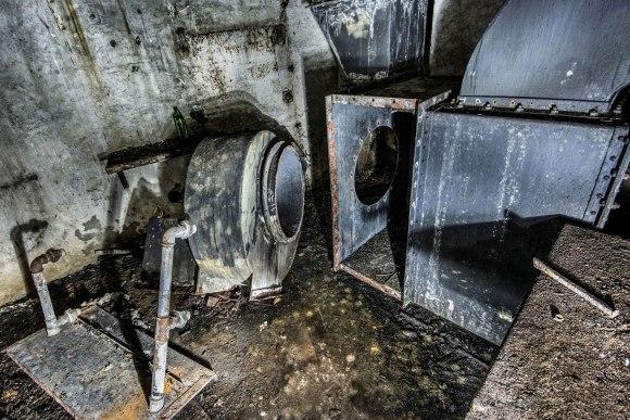 Mažino linija - ventiliacijos įranga