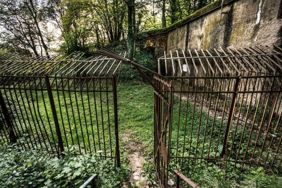 Mažino linija - priešpėstininkinė tvora