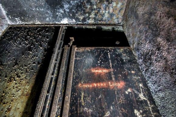 Mažino linija - cisternos talpa