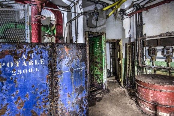 Mažino linija - cisterna
