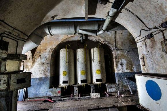 Mažino linija - cisternos