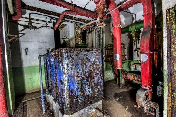 Mažino linija - vandens cisternos