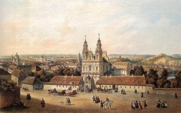 Misionierių vienuolynas XVIII amžiuje