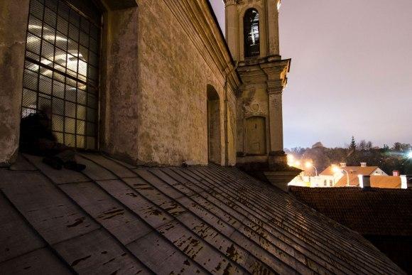Lipimas stogu