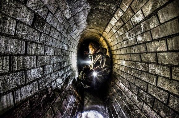 Siauras tunelis