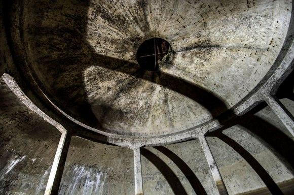Kupolo viršus ir ventiliacija
