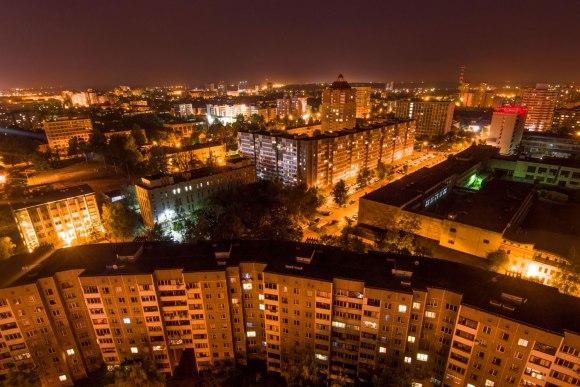 Miesto šviesos