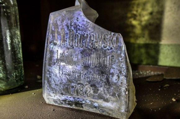 Degtinės butelis 1782