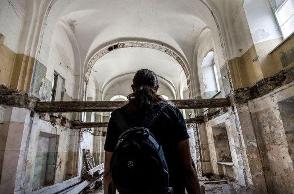 Įėjimas į koplyčią