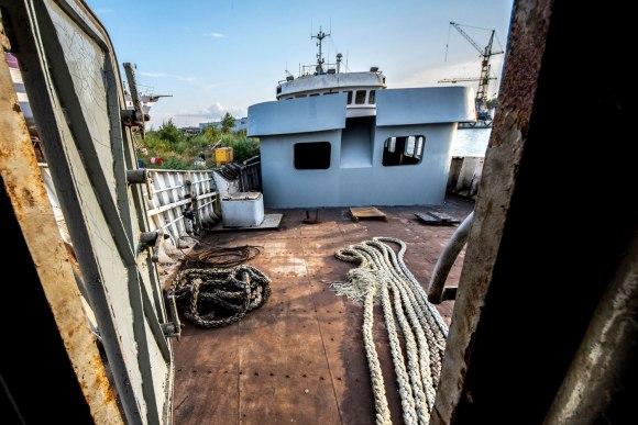 Apleistas laivas - denis