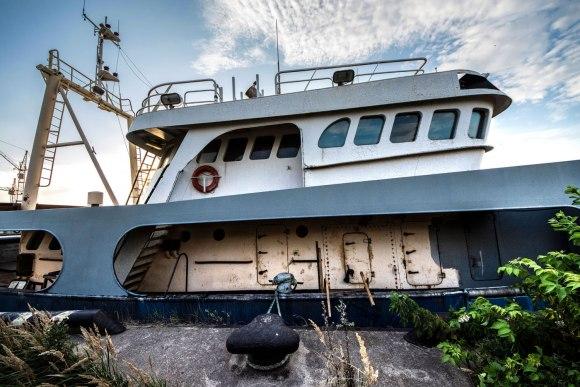 Apleistas laivas