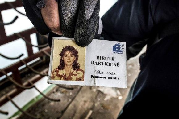 Darbuotojos kortelė