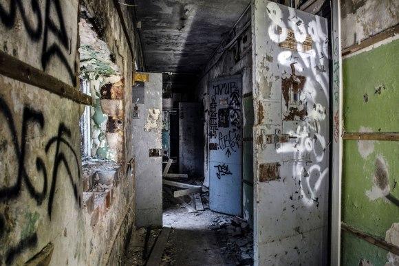 Koridorius ir kameros
