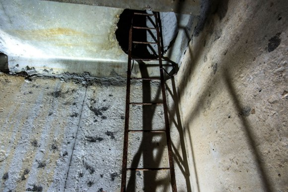 Laiptai link šulinio