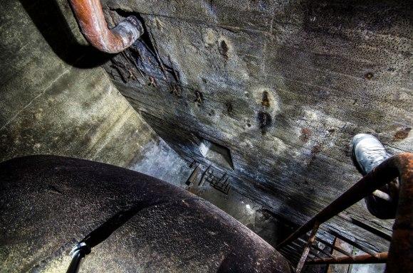 Nusileidimas nuo cisternos
