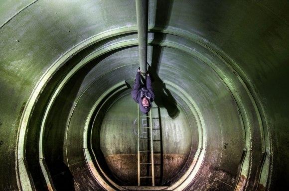 Išlipimas iš cisternos