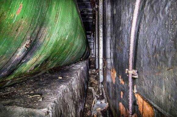 Kuro cisterna iš šono
