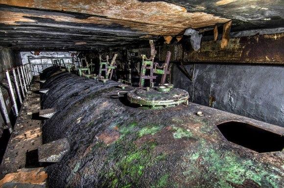 Kuro cisterna iš viršaus