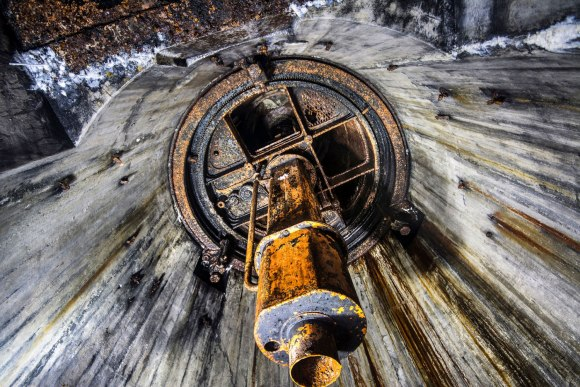 Regenwurmlager - apžvalgos bokštelio periskopas
