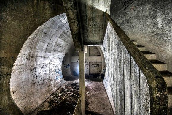 Regenwurmlager - laiptinės atrama