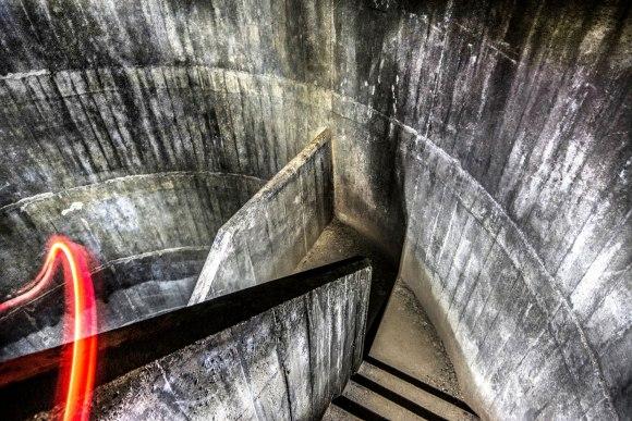 Regenwurmlager - tunelių sistema