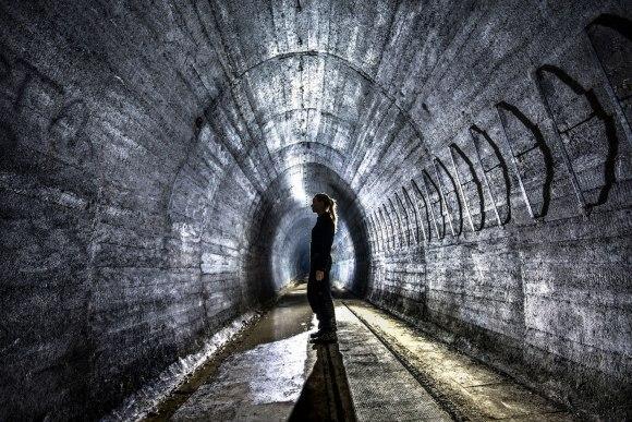 Regenwurmlager - tunelis