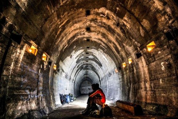 Regenwurmlager - tuneliai