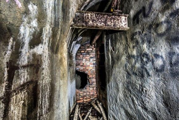 Regenwurmlager - užmūryta dalis