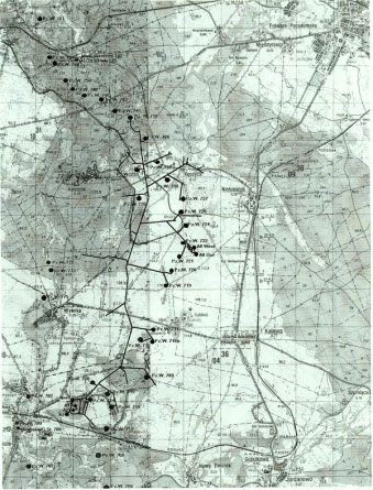 Regenwurmlager 1944-tais