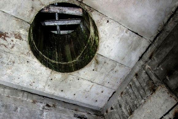 Ventiliacijos bokštelio vieta