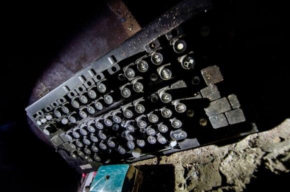 Telegrafo aparato klaviatūra