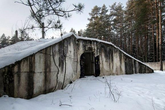 Išėjimas iš bunkerio