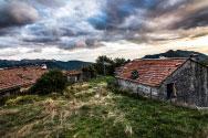 Apleistas kaimas Italijos kalnuose