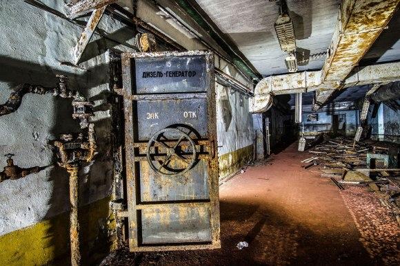 Dyzelinių generatorių patalpa