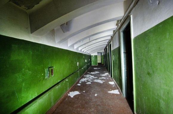Antro aukšto koridorius