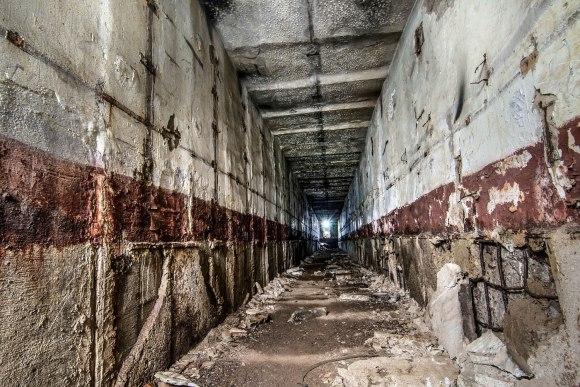 Tunelis link šachtos