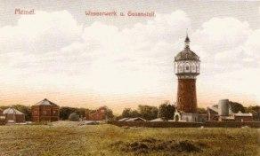 Vandenvietė XX a pr., http://wiki-de.genealogy.net/Am_Wasserturm_in_Memel nuotr.