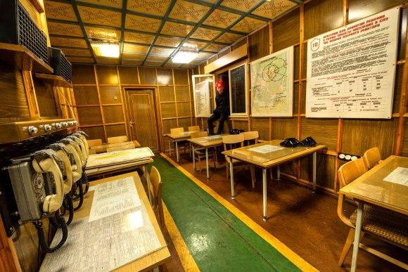 Bunkeris su technika - apleista klasė