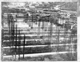 Pagrindinio komplekso statybos