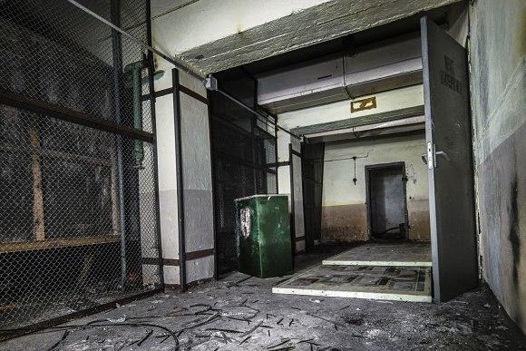 Koridorius į technines patalpas