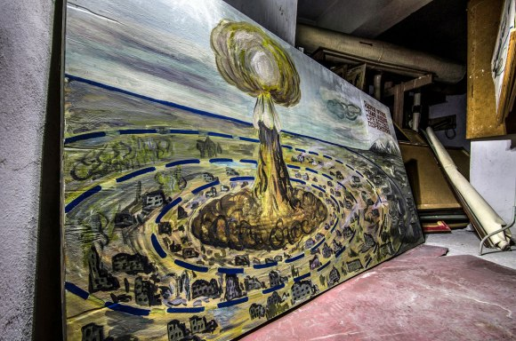 Branduolinio sprogimo tematika