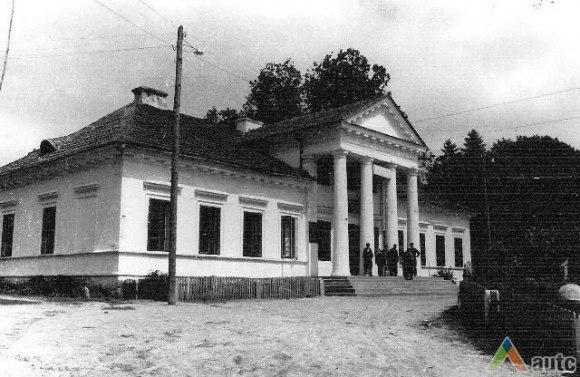 Šumsko dvaro rūmai XX a. pradžioje