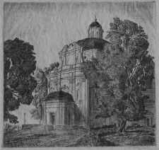 Pranciškus Smuglevičius, 1786 piešinys