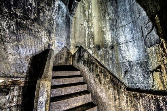 Regenwurmlager - betoninė laiptinė