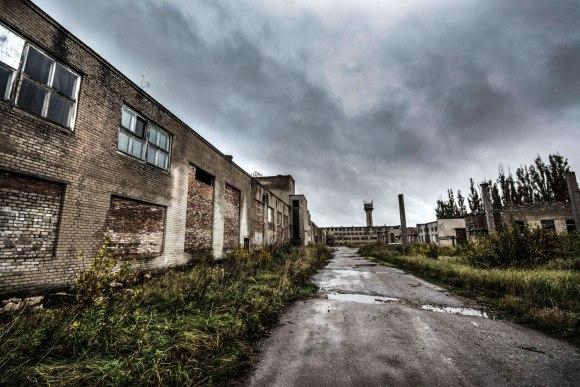 Buvusi gamyklos teritorija