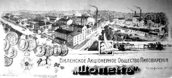 Šopeno bravoras 1912-tais