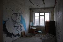 Skvoterio kambarys
