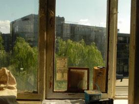 Vaizdas per langą - Karaliaus Mindaugo apartamentai