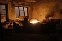 Pagrindinė patalpa trečiame aukšte, po gaisro
