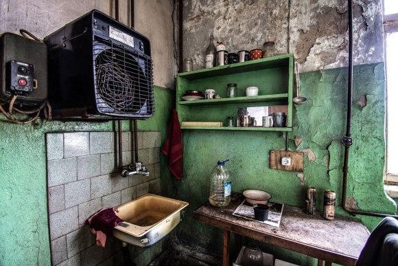 Apleista virtuvė